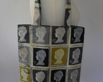 UK First Class Postage Stamps Tote Bag. Item No. LDC0083