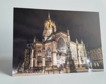 St. Giles Cathedral A6 Card