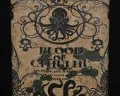 Blood of Cthulhu 8 oz Flask