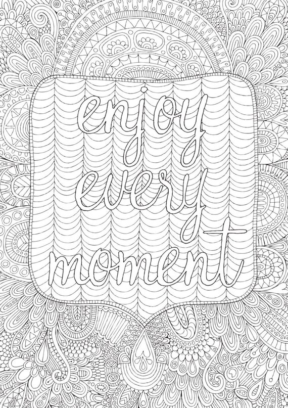 Items Similar To Enjoy Every Moment