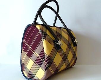 Capulana Bag, Handbag, Shoulder bag, Purse