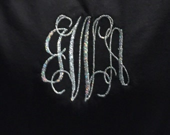 Long Sleeved Tee with Monogram