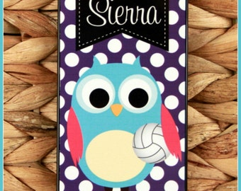 Owl Sports Team Personalized iPhone Case School Colors Monogrammed iPhone Case iPhone Case Custom Case iPhone iPhone 7+ Case Plus 7s 7 6+ 6