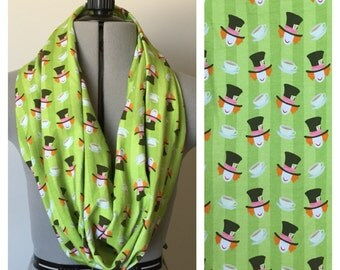 Mad Hatter inspired Single Loop Scarf