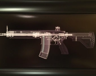 Unique Firearm Art By Xraygunprints On Etsy