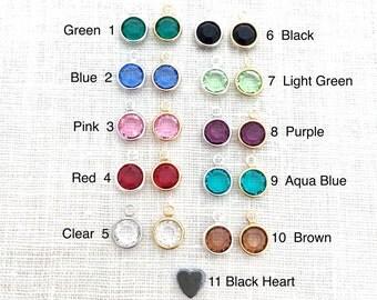 Add a Charm to Jewelry Purchased, Swarovski Crystal elements
