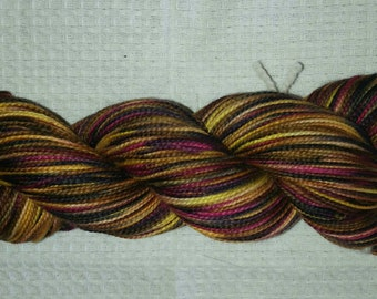 The Darker Side of Irene - Hand Painted Sock Yarn