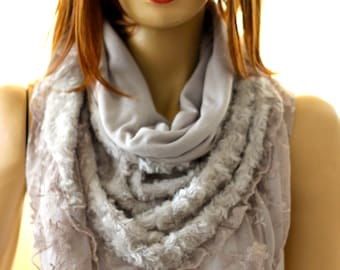 mink Shawl - Spring Scarves - Winter Scarves - Woman Accessories - Woman Scarves - Spring Scarves - triangle shawl - lace shawl- wedding