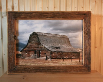 Old Montana barn