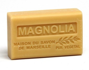 Magnolia  French Triple Milled Soap Moisturizer Olive Oil soap
