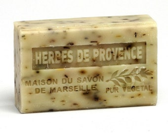 Herbs de Provence Exfoliating Organic French Soap