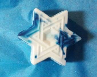 Star of David Hanukkah Soap!