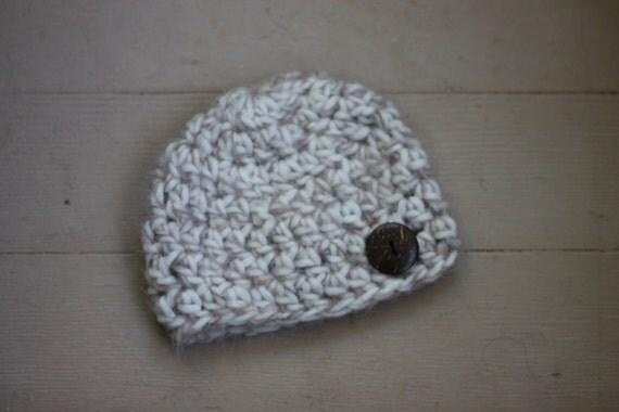 Newborn boy hat,baby boy hat, neutral  hat with button, gender neutral baby  hat, fall  photo propel hat, baby photo prop hat