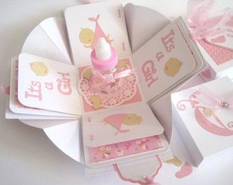 Gift wrap gift money birth girl