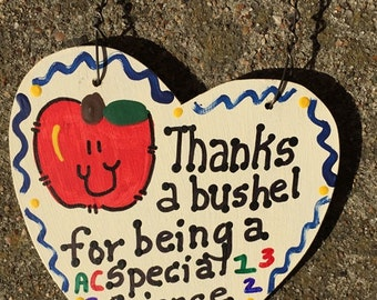 Teacher Gift Thanks a Bushel 6025 Special Science Teacher