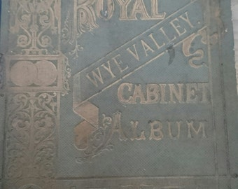 Antique wye Valley cabinet album