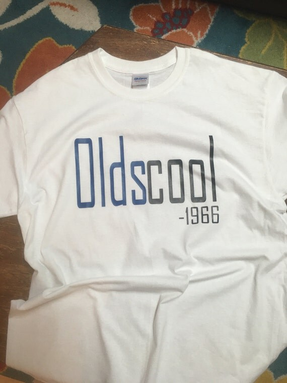 Oldscool - Birthday Shirt