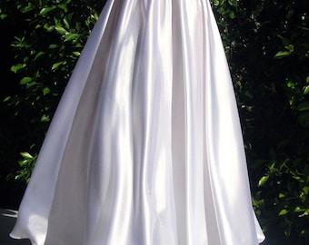 Satin Maxi Skirt. Sizes S M L 1X 2X 3X