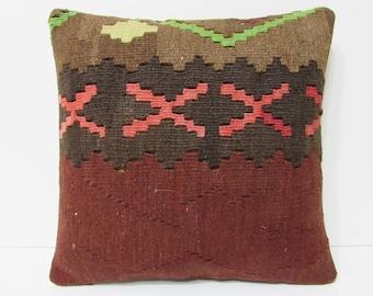 xs kilim pillow wool decorative pillow shabby chic decor decorative throw pillow kilim pillow case turkish rug moroccan floor cushion 21650