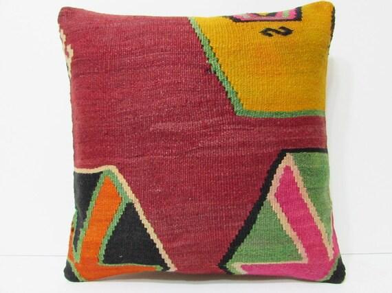 Turkish Throw Pillow Covers : Turkish cushion 18 sofa throw pillow kilim pillow cover
