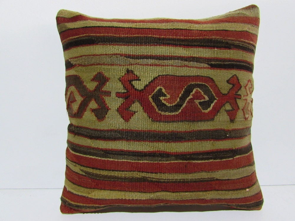 Decorative Pillows Kilim : 20x20 kilim pillow 20x20 decorative pillow 20x20 pillow cover