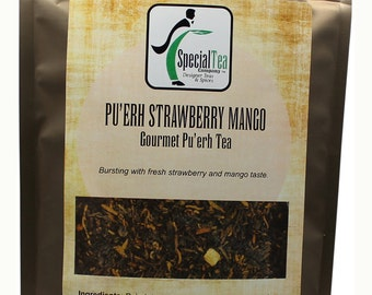 Pu-Erh Strawberry Mango, 20 Tea Bags