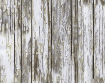Landscape Scenery Cotton Fabric Prints! Wood, Planks, Fencing, & Barb Wire! [Choose Your Cut Size]