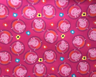 Peppa Pig / Travel Pillow Case /  Child Pillow Case /  Peppa Pig