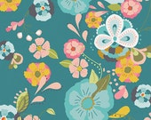 "Emmy Grace Fabric from Art Gallery  ""Floral Floats Fresh"" by Bari J. Butterfly Fabric. 100% premium cotton. EMG-4600"
