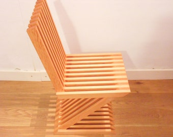 wooden chair IN - douglas fir - fsc certified