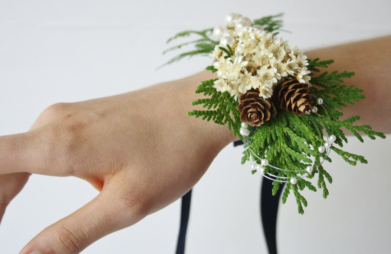 rustic wrist corsage  etsy, Beautiful flower
