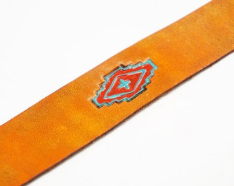 Southwestern Leather Bookmark