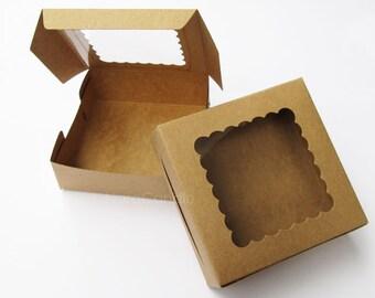 Bulk Small Gift Box, Favor Box, Soap Packaging, Brownies Box, Macaron Box Set of 50