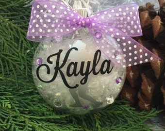 Discus Thrower Ornament, Personalized, Monogrammed