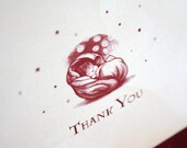 Harry Potter Baby Shower Thank You Cards