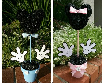 Mickey Mouse Centerpiece,  12 Inch  Mickey Mouse Party Decorations