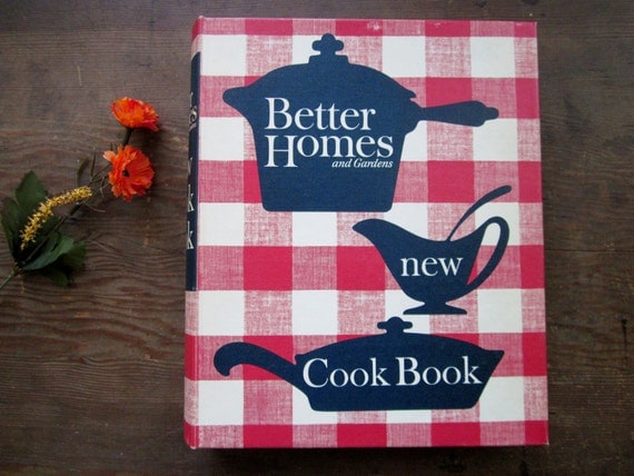On Sale Vintage Better Homes Gardens New Cookbook 1965