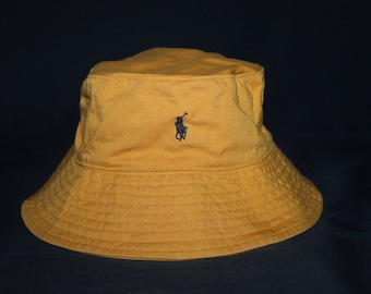 Vintage Polo Ralph Lauren Pony Bucket Hat Golf Sportsman