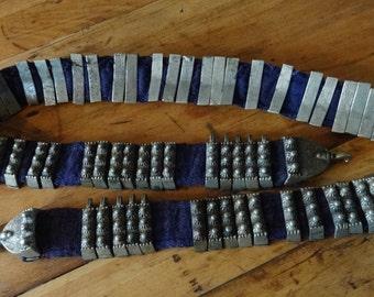 Antique Bronze Cast Long Belt-Game of Thrones, Goth, Indian,Reinactment