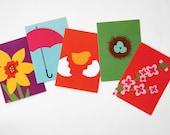 Jilly Jack Designs Spring Series Note Card Set