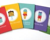 Jilly Jack Designs Sweet Series Note Card Set
