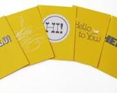 Jilly Jack Designs Hello Series Note Card Set