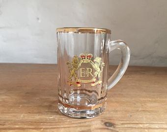 Mini Coronation 1953 tankard/pint glass