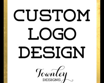 Custom Logo Design for your Business, No limit on revisions, One of a kind logo