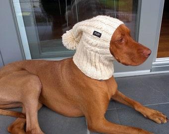 Reindeer Dog Hat / Reindeer Dog Snood / Christmas Dog Hat
