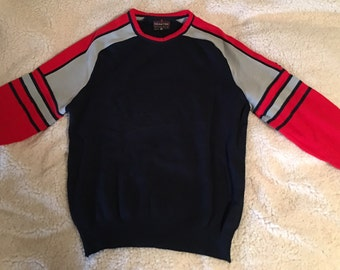 Vintage Men's Pure Virgin Wool Sweater