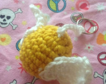 Golden Snitch Harry Potter Inspired Crocheted Keychain