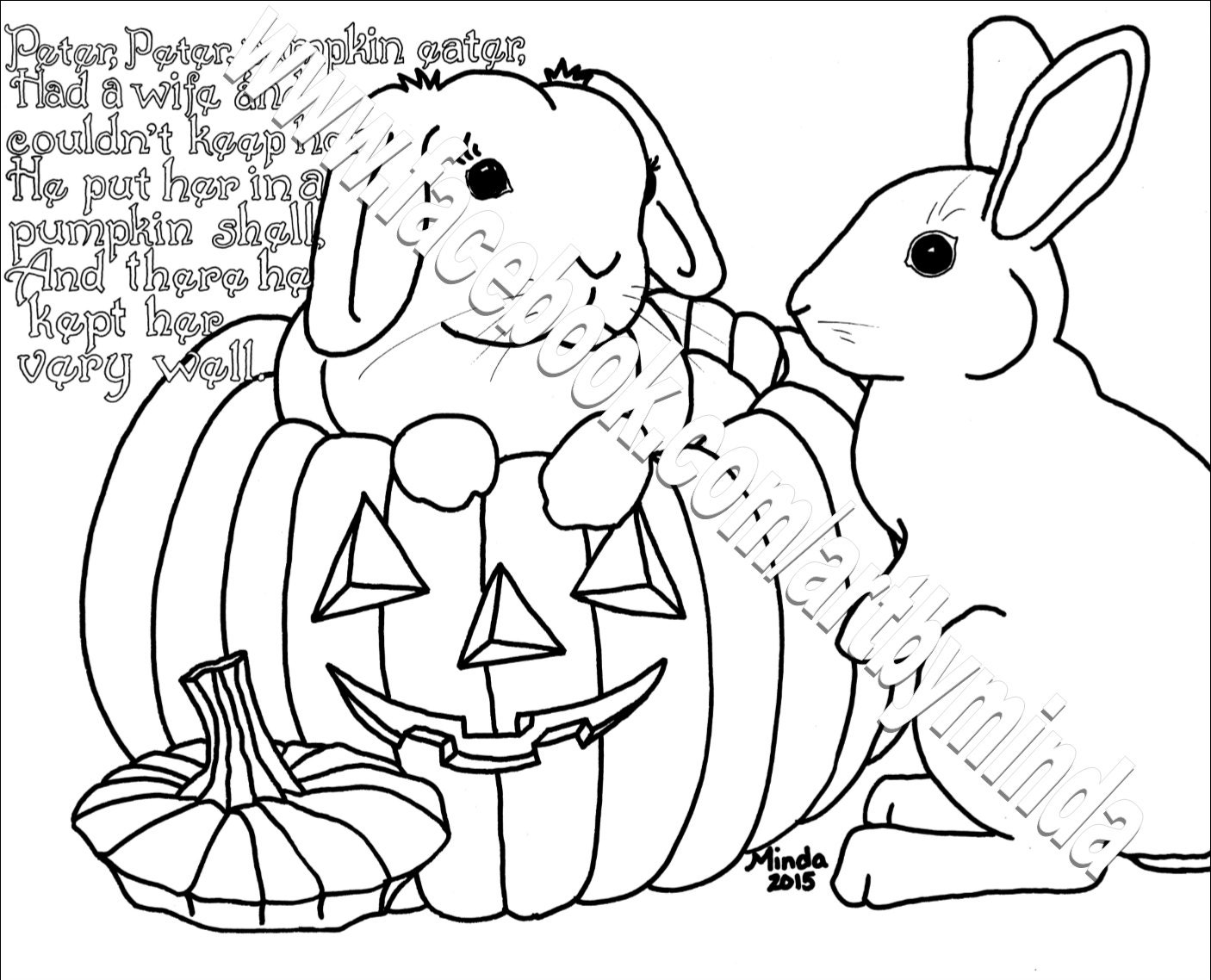 Peter Pumpkin Eater Coloring Page Home Sketch Coloring Page Pumpkin Eater Coloring Page