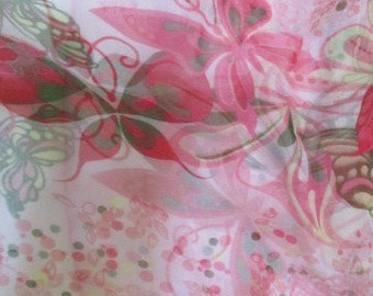 SALE - Silk scarf