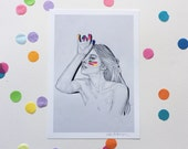 Be you not them. Part III / Signed print by Niki Pilkington
